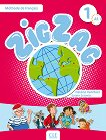 Zigzag - ниво 1 (A1.1): Учебник по френски език + CD - Hélène Vanthier, Sylvie Schmitt -