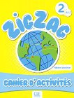 Zigzag - ниво 2 (A1.2): Учебна тетрадка по френски език - Hélène Vanthier -