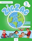 Zigzag - ниво 3 (A2.1): Учебник по френски език + CD - Hélène Vanthier -