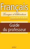 Francais - Langue et litterature: Книга за учителя по френски език за 11. и 12. клас - Весела Антонова -