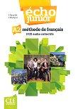 Echo Junior - A2: 3 CD с аудиоматериали по френски език за 8. клас за интензивно обучение : 1 edition - J. Girardet, J. Pecheur -