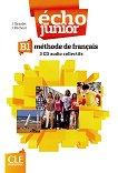 Echo Junior - B1: 3 CD с аудиоматериали по френски език : 1 edition - J. Girardet, J. Pecheur -