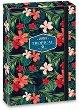 Кутия с ластик - Tropical Wildblume - Формат А4