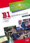 Echo - B1.2: 2 CD с аудиоматериали по френски език : 2e edition - J. Girardet, J. Pecheur -