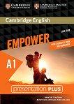 Empower - Starter (A1): Presentation Plus DVD-ROM с материали за учителя по английски език - Adrian Doff, Craig Thaine, Herbert Puchta, Jeff Stranks, Peter Lewis-Jones -
