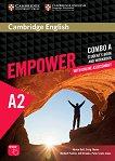 Empower - Elementary (A2): Комплект по английски език Combo A - част 1 + онлайн материали - учебна тетрадка