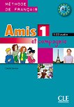 Amis et compagnie - ниво 1 (A1): 3 CD с аудиоматериали по френски език за 5. клас : 1 edition - Colette Samson - помагало