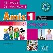 Amis et compagnie - ниво 1 (A1): CD за ученика с аудиоматериали по френски език за 5. клас : 1 edition - Colette Samson -