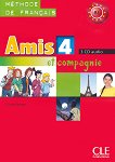 Amis et compagnie - ниво 4 (B1): 3 CD с аудиоматериали по френски език за 8. клас : 1 edition - Colette Samson -