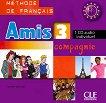 Amis et compagnie - ниво 3 (A2 - B1): CD за ученика с аудиоматериали по френски език за 7. клас 1 edition -