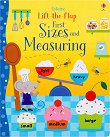 Lift-the-flap: First Sizes and Measuring - Hannah Watson, Melisande Luthringer -