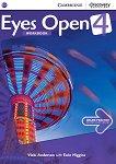 Eyes Open - ниво 4 (B1+): Учебна тетрадка по английски език -