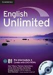 English Unlimited - Pre-intermediate (B1): Комплект по английски език Combo A - част 1 + 2 DVD-ROM - Alex Tilbury, Theresa Clementson, Leslie Anne Hendra, David Rea, Maggie Baigent, Chris Cavey, Nick Robinson - продукт