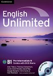 English Unlimited - Pre-intermediate (B1): Комплект по английски език Combo B - част 2 + 2 DVD-ROM - Alex Tilbury, Theresa Clementson, Leslie Anne Hendra, David Rea, Maggie Baigent, Chris Cavey, Nick Robinson -