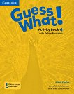 Guess What! - ниво 4: Учебна тетрадка по английски език -