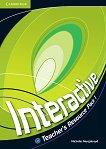 Interactive - ниво 1 (A2): Книга за учителя с допълнителни упражнения по английски език - Nicholas Murgatroyd -