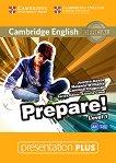 Prepare! - ниво 1 (A1): Presentation Plus - DVD-ROM с материали за учителя по английски език First Edition - учебник