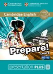 Prepare! - ниво 2 (A2): Presentation Plus - DVD-ROM с материали за учителя по английски език : First Edition - Joanna Kosta, Melanie Williams, Garan Holcombe, Annette Capel -