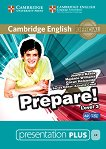 Prepare! - ниво 3 (A2): Presentation Plus - DVD-ROM с материали за учителя по английски език : First Edition - Joanna Kosta, Melanie Williams, Garan Holcombe, Annette Capel -