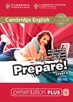 Prepare! - ниво 4 (B1): Presentation Plus - DVD-ROM с материали за учителя по английски език First Edition - учебник