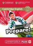 Prepare! - ниво 5 (B1): Presentation Plus - DVD-ROM с материали за учителя по английски език First Edition -