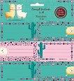 Етикети за тетрадки - Best Friends - Комплект от 18 броя -