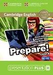 Prepare! - ниво 6 (B1- B2): Presentation Plus - DVD-ROM с материали за учителя по английски език First Edition -
