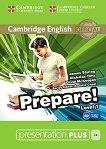 Prepare! - ниво 7 (B2): Presentation Plus - DVD-ROM с материали за учителя по английски език First Edition -