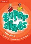 Super Minds - ниво 4 (A1): Комплект от карти с думи по английски език - учебник