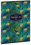 Ученическа тетрадка - Tropical Florida : Формат А4 с широки редове - 40 листа - тетрадка