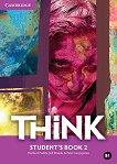 Think - ниво 2 (B1): Учебник по английски език - Herbert Puchta, Jeff Stranks, Peter Lewis-Jones -