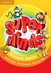 Super Minds - Starter (Pre - A1): Флашкарти по английски език - учебна тетрадка
