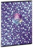 Ученическа тетрадка - Blue Ghost : Формат А4 с широки редове - 40 листа -