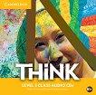 Think - ниво 3 (B1+): 3 CD с аудиоматериали по английски език - учебна тетрадка