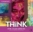 Think - ниво 2 (B1): 3 CD с аудиоматериали по английски език - учебник