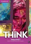 Think - ниво 2 (B1): Video DVD по английски език - помагало