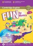 Fun - ниво Movers (A1 - A2): Учебник по английски език + онлайн и аудиоматериали Fourth Edition -