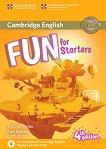 Fun - ниво Starters (A1 - A2): Книга за учителя по английски език + онлайн материали : Fourth Edition - Anne Robinson, Karen Saxby -