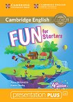 Fun - ниво Starters (A1 - A2): Presentation Plus - DVD-ROM по английски език : Fourth Edition - Anne Robinson, Karen Saxby -
