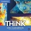 Think - ниво 1 (A2): 3 CD с аудиоматериали по английски език -