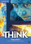 Think - ниво 1 (A2): Video DVD по английски език - Herbert Puchta, Jeff Stranks, Peter Lewis-Jones - помагало