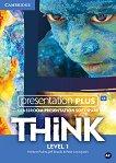 Think - ниво 1 (A2): Presentation Plus - DVD-ROM с материали за учителя по английски език -