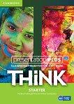 Think - ниво Starter (A1): Presentation Plus - DVD-ROM с материали за учителя по английски език - Herbert Puchta, Jeff Stranks, Peter Lewis-Jones - учебна тетрадка