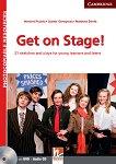 Get on Stage!: Книга за учителя по английски език + CD  с аудиоматериали и DVD - Herbert Puchta, Gunther Gerngross, Matthew Devitt -