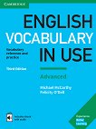 English Vocabulary in Use: Advanced Book with Answers and Enhanced eBook Third Edition - учебник