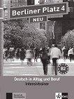 Berliner Platz Neu - ниво 4 (B2): Помагало по немски език - Margret Rodi, Lutz Rohrmann - продукт
