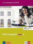 DaF Kompakt Neu - ниво A1: Комплект от учебник и учебна тетрадка по немски език + CD -