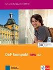 DaF Kompakt Neu - ниво A2: Комплект от учебник и учебна тетрадка по немски език + CD -