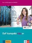 DaF Kompakt Neu - ниво B1: Комплект от учебник и учебна тетрадка по немски език + CD -