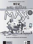 Der Grune Max Neu - ниво 1 (A1): Учебна тетрадка по немски език + CD - Elzbieta Krulak-Kempisty, Lidia Reitzig, Ernst Endt -